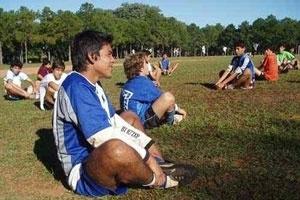 Der Traum des Fußballers José