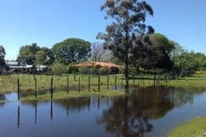 In Paraguays Süden - mehr Wasser als Land.
